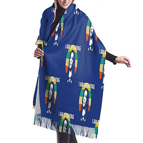 Vcxbsdvbd I Am Speakingfashion Cashmere Big Shawl Winter Thick Warm Scarf Blanket 77'X 27