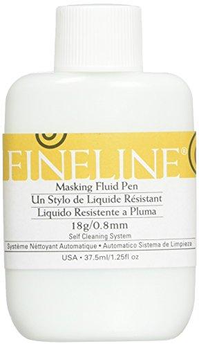 Fineline Applicators Fineline 18ga Std Tip Masking Fluid Pen 1.25oz