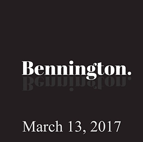 Bennington, Mike Recine and Yamaneika Saunders, March 13, 2017 audiobook cover art