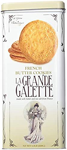 LA Grande Galette French Butter Cookies, 21.16 Ounce
