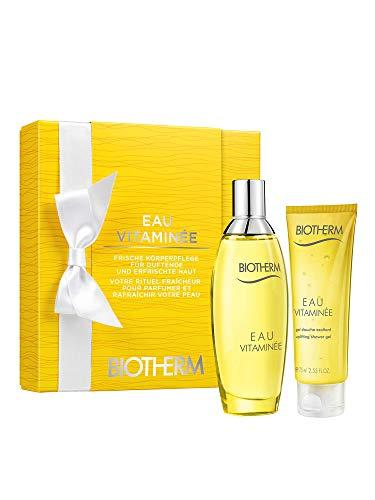 Biotherm Eau Vitaminée femme/woman Set (Eau de Toilette (100 ml), Duschgel (75 ml))