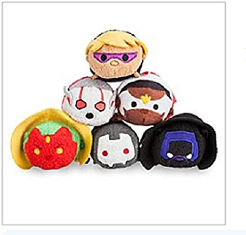Disney - Marvel's Avengers Mini ''Tsum Tsum'' Plush Collection - Series 2 - Set of 6 - New with Tags by Disney