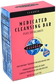 Clear Essence Medicated Cleansing Bar+Exfoliants 4.7oz by Clear Essence