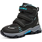 Boys Boots Winter Snow Shoes Waterproof Antiskid Boots Hiking Outdoor Shoes for Kids Girls(Toddler/Little Kid/Big Kid)
