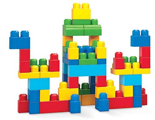 Mattel Mega Bloks First Builders DCH55 - Bausteinebeutel - Medium 60 Teile, spielzeug ab 1 jahr