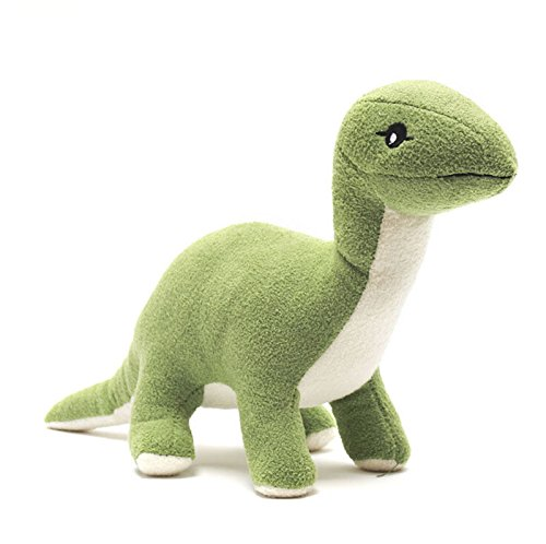 wwwl Jouet en Peluche Soft Stuffed Dolls Green Dinosaur Plush Toys for Boys Christmas Birthday Gift Green
