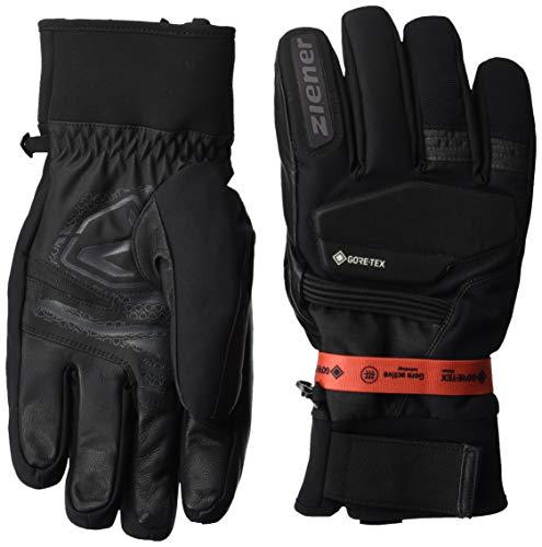 Ziener Herren GIL GTX Gore Active Glove Alpine Ski-handschuhe/Wintersport, Wasserdicht, Atmungsaktiv, grey iron tec, 8