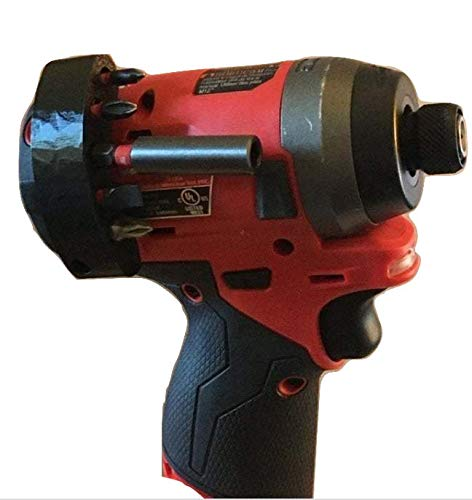 Magnetic 3D Printed Multi Bits Holder for Milwaukee 2553-20/2504-20 M12 Impact Driver/Drill - BitHog