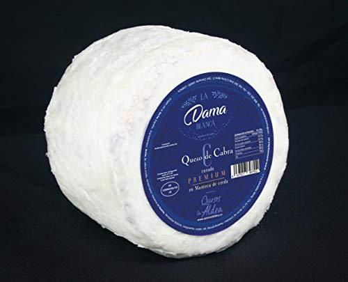 Queso de Cabra Curado en Manteca de Cerdo La Dama Blanca 1 Kg