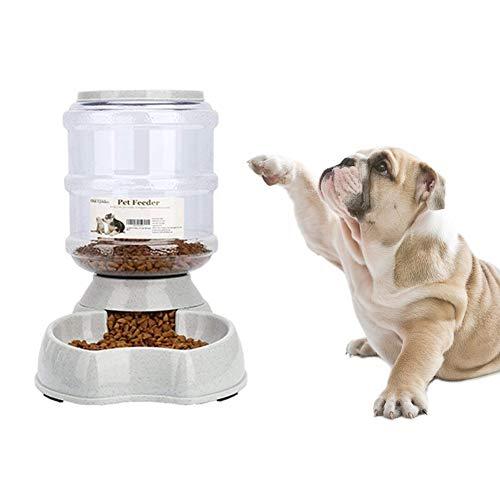 Old Tjikko Katze Futterspender,Futterautomaten,Katzenfutter Automat,Automatischer Katzen Futterspender Hunde,jeweils 3.8 L PBA Frei