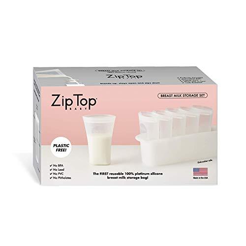 bolsas para leche materna reutilizables fabricante Zip Top
