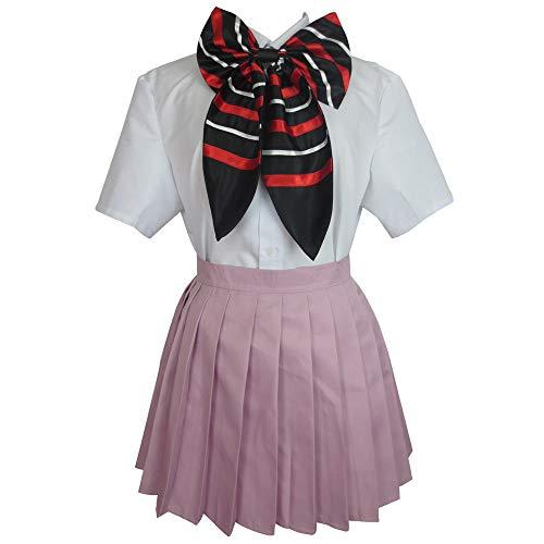 Ao no/Blue Exorcist Shiemi Moriyama School Uniform Anime Cosplay Costume (Female S)