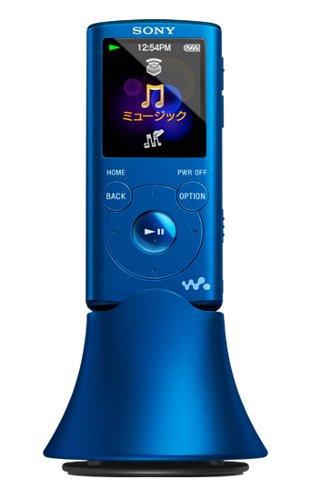 SONY ウォークマン Eシリーズ [メモリータイプ] スピーカー付 4GB ブルー NW-E053K/L