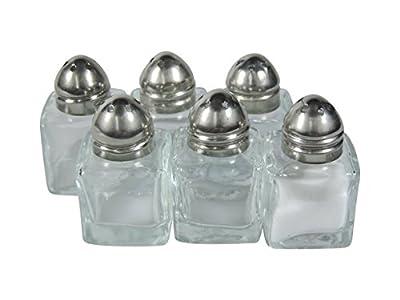 Viva Household Goods 6 Mini Salt Spreaders / Minis Glasses 2.7 x 2.7 x 4.5 cm # 38536 # by -
