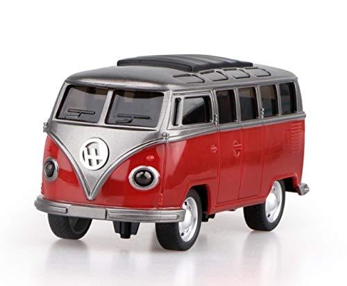 LIUYB Coche Mini Bus Modelo de simulación de inercia autobús Escolar Coche de Juguete de la música del bebé de los niños (Color : 4)
