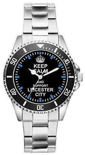 Leicester City Geschenk Artikel Idee Fan Uhr 1717