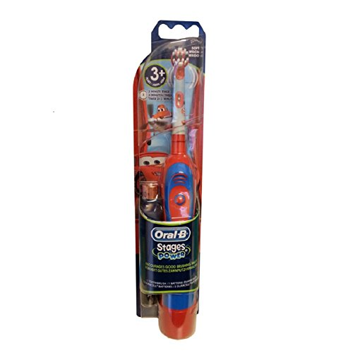 Braun Oral-B Advance Stages Power Kids Battery Toothbrush Disney Cars for 3+ by Oral-B