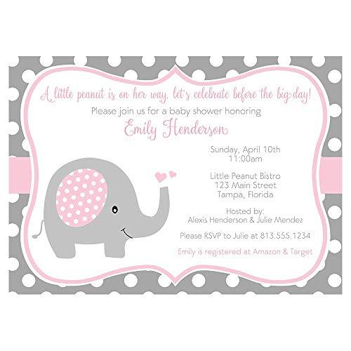custom baby shower invitations - 1