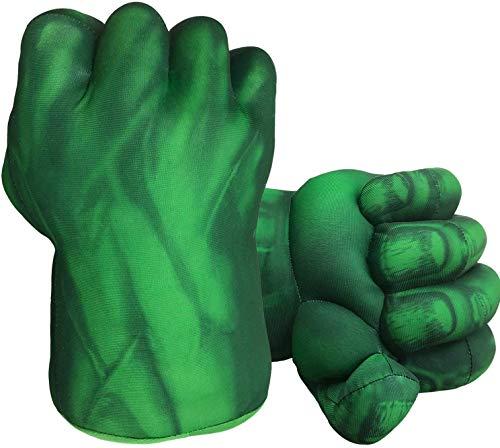 Guantes de boxeo de superhéroes, puños, juguetes de peluche suave, para cosplay, superhéroes, regalos de cumpleaños para adultos, niños, adolescentes, niñas y niños
