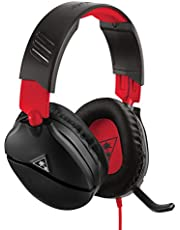 Turtle Beach Recon 70N Gaming Headset for Nintendo Switch, PS4, Xbox One & PC (Black/Red)