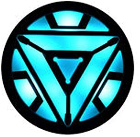 Stark Arc Reactor Wearable Costume Accessory I Man Arc Reactor Prop Patch Led Light Style 4 product image