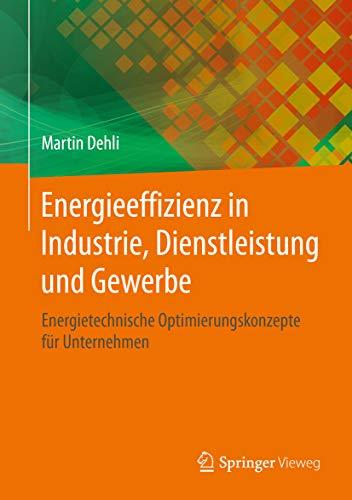 Energieeffizienz in Industrie, Dienstleistung und Gewerbe: Energietechnische Optimierungskonzepte für Unternehmen (Energie in Naturwissenschaft, Technik, Wirtschaft Und Gesell)