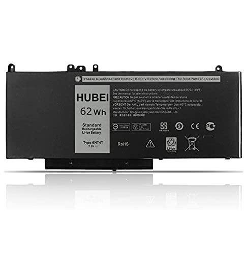 6MT4T 7V69Y TXF9M 79VRK 07V69Y Laptop-Batteriewechsel für Dell Latitude E5470 E5570 Latitude 12 5000 E5270 Dell Precision 15 3510 Notebook-PC (7.6V 62Wh)