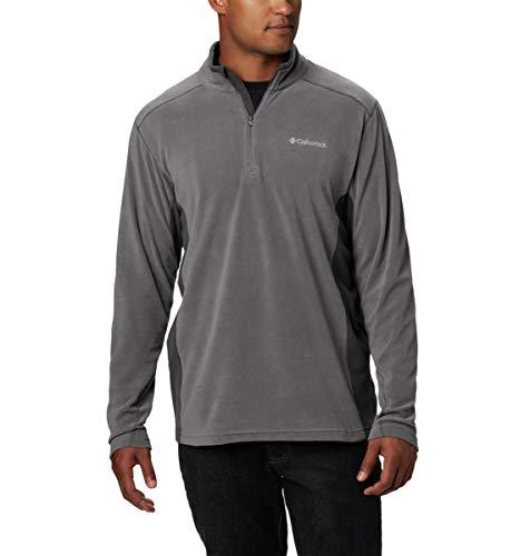 Columbia mens Klamath Range Ii Half Zip Pullover Sweater, City Grey, Shark, Large US