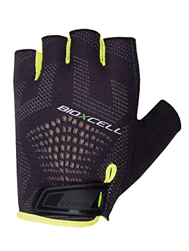 Chiba Bioxcell Super Fly Handschuhe, Black/Neon Yellow, Size X-Large