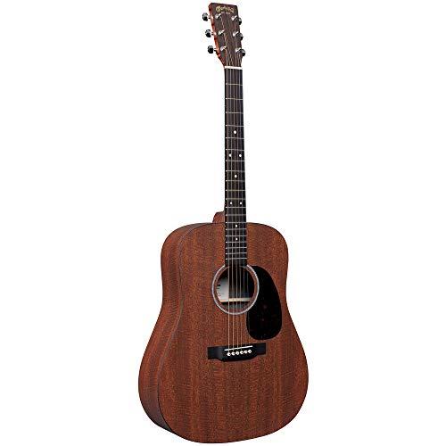 Martin Guitar X Series D-X1E Acoustic-Electric Guitar with Gig Bag, KOA Pattern High-Pressure Laminate, D-14 Fret, Performing Artist Neck Shape