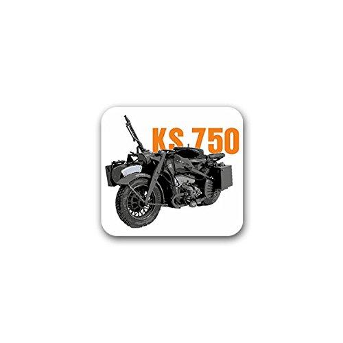 Copytec #A2249 Stickers voor motorfiets, 750 Wh, motorfiets, gespannen, oldtimer, fiets, overzwaar kopen, verzamelaars, ontmoetingen 8 x 7 cm