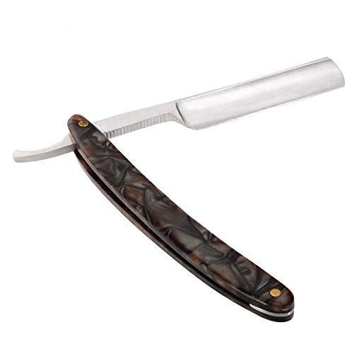 Couteau Barbera de rasoir avec lame en acier au carbone et manche acrylique 4692