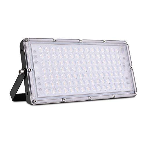 LED Fluter, Sararoom LED Strahler Außen 100W led lampe Scheinwerfer Flutlicht Superhell Warmweiß 10000LM IP65 Wasserdicht mit 180°Rotations für Garten Garage Oder Sportplatz