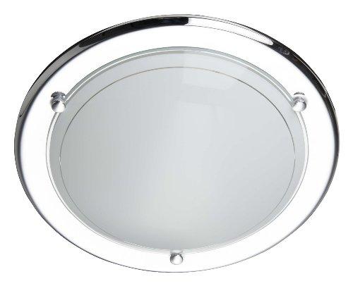 Brilliant - 90191/15 - Plafonnier Miramar - 60 W - E27 - Chrome