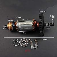 AC220-240V 日立アンカーステータ Replace マキタ 5704R DCA MIY-FF/FF02-185 電動丸鋸モータコイル-Stator