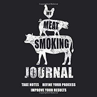 My Meat Smoking Journal: The Smoker's Must-Have Vintage Accessory for Every Barbecue Enthusiast - Take Notes, Refine Process, Improve Result - Become the BBQ Guru