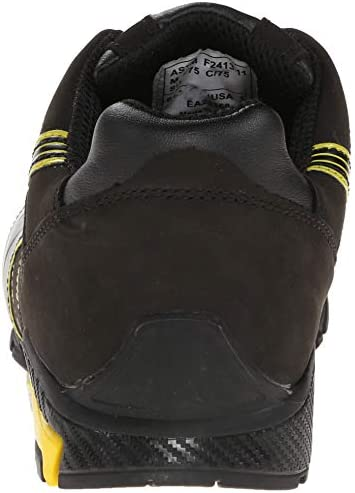 Amazon.com: PUMA Safety Amsterdam Low Size 10 Black-Yellow ...
