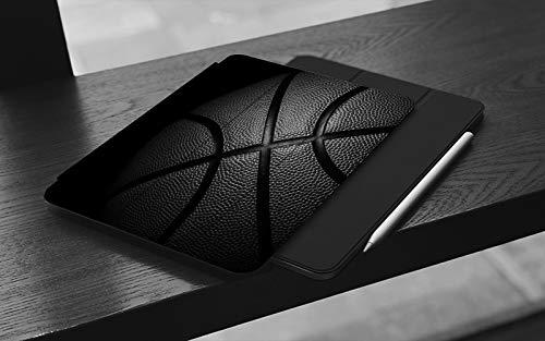 MEMETARO Funda para iPad (9,7 Pulgadas 2018/2017 Modelo), Baloncesto Smart Leather Stand Cover with Auto Wake/Sleep