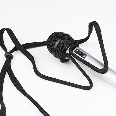 『HIROMARUjp 首掛け マイク スタンド ストラップ マイクスタンド マイクホルダー 手品 マジック』の4枚目の画像