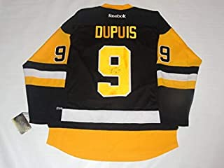 Pascal Dupuis Autographed Signed Pittsburgh Penguins 2016 Stanley Cup Jersey JSA