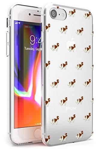 Cavalier King Charles Spaniel Modello Chiaro Slim Cover per iPhone 6 TPU Protettivo Phone Leggero con Animale Domestico Cucciolo Razza Animale
