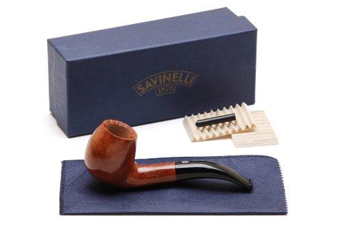 Savinelli Spring Liscia 677 KS Tobacco Pipe