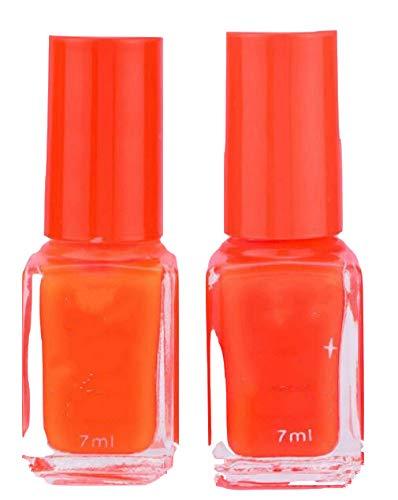 Candy Fluorescent Neon Leuchtgel Nagellack für Glow in Dark Nagellack(Orange)