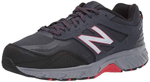 New Balance Men's 510 V4 Trail Running Shoe, Thunder/Black, 11 M US