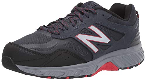 New Balance Men's 510v4 Cushioning Trail Running Shoe THUNDER/BLACK 10.5 D US