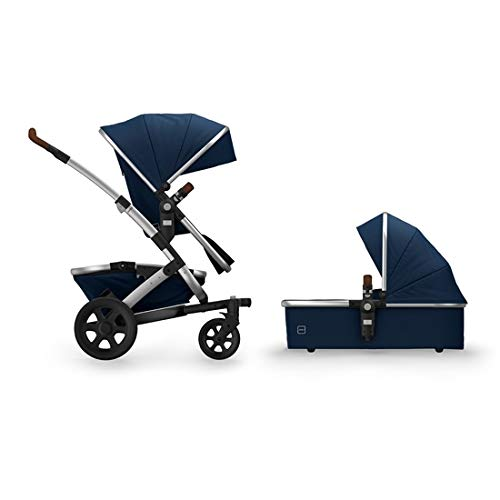 New Joolz Geo2 Mono Complete Stroller Set with Raincover, Classic Blue
