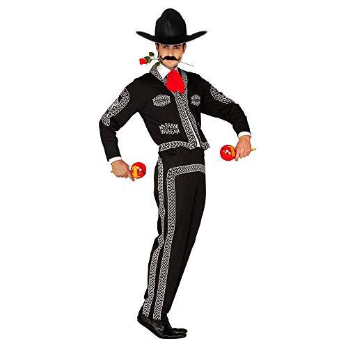 WIDMANN Widman - Disfraz de mariachi mexicano para hombre, talla M (44112)