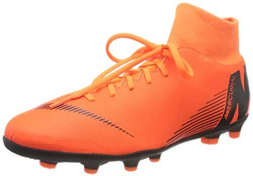 Nike Unisex-Erwachsene Superfly 6 Club Mg Fitnessschuhe, Mehrfarbig (Total Orange/Black-T 810), 46 EU