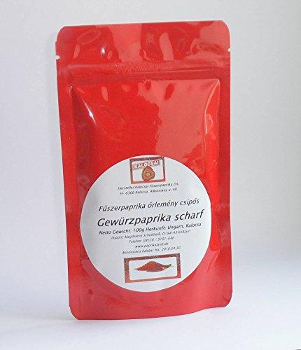 Paprika Delikat / SCHARF 100g Paprikapulver Kalocsa Ungarn ohne Zusatzstoffe
