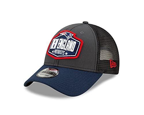 New Era New England Patriots NFL 2021 Draft 9Forty Snapback Cap - One-Size
